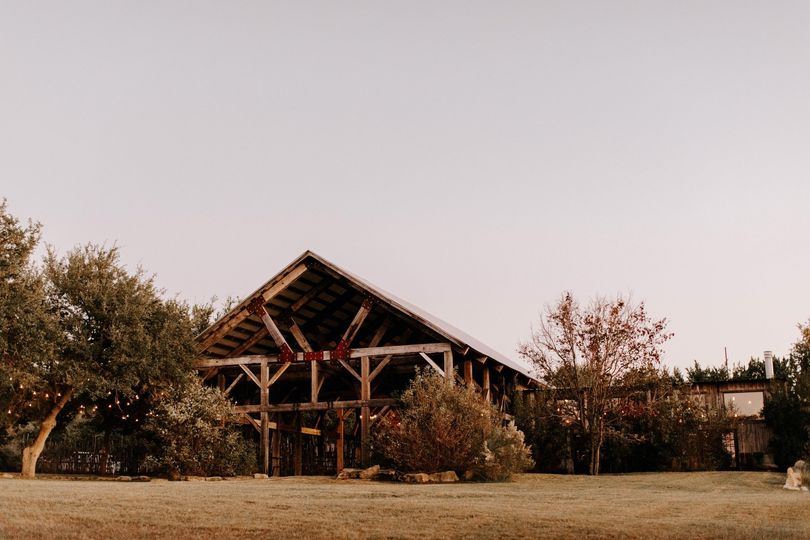 The Creek Haus reception barn