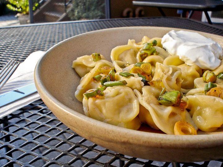 Veal dumplings