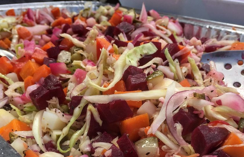 Russian vinaigrette salad