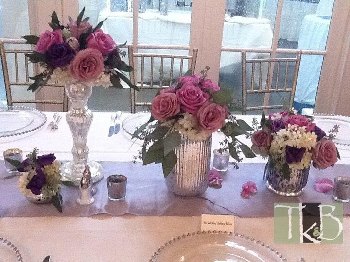 Tmx 1348699478183 Mercuryglassarrangementswadsworthmansion Rocky Hill, Connecticut wedding florist