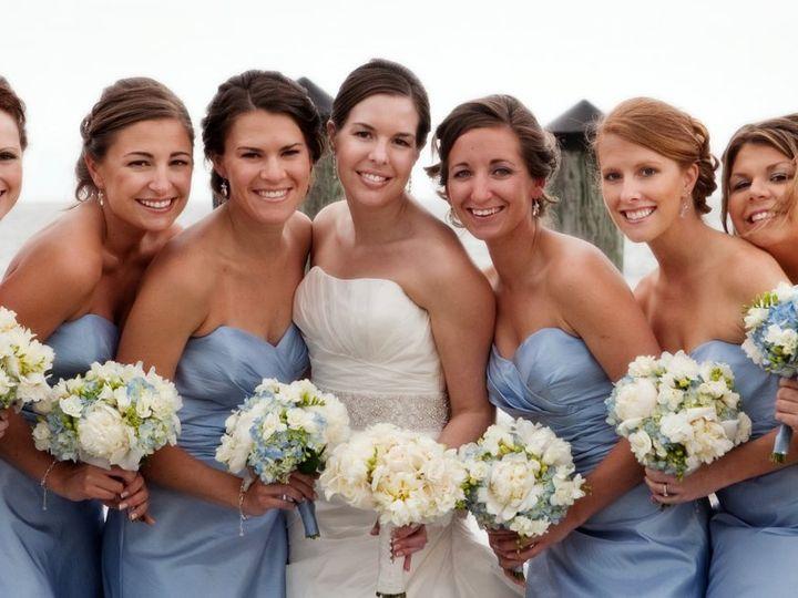 Tmx 1354269772414 Bluehydrangeaswhitepeonies Rocky Hill, Connecticut wedding florist