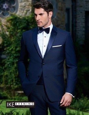 ike behar navy tuxedo