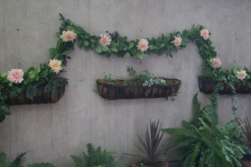 Wedding garland and flowers