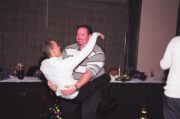 Men have fun when I DJ also - it's not just all about the Girls!  (No they are NOT Gay)