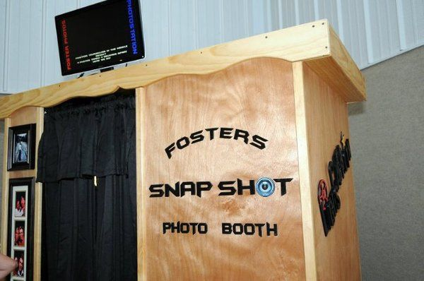 Fosters' photo booth