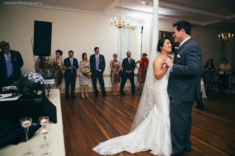 First Dance in The Washington.  Photo by Mizfam Photography.