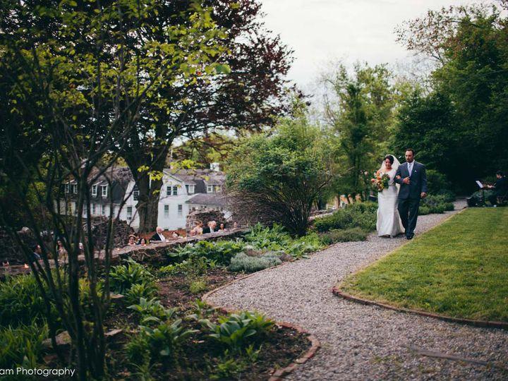 Tmx 1385572381853 Bride Walk Through Herb Garde Chester Springs, PA wedding venue
