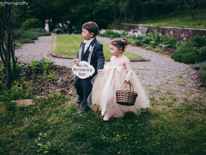 Tmx 1385572422585 Flower Girl And Ring Bearer With Herb Garde Chester Springs, PA wedding venue