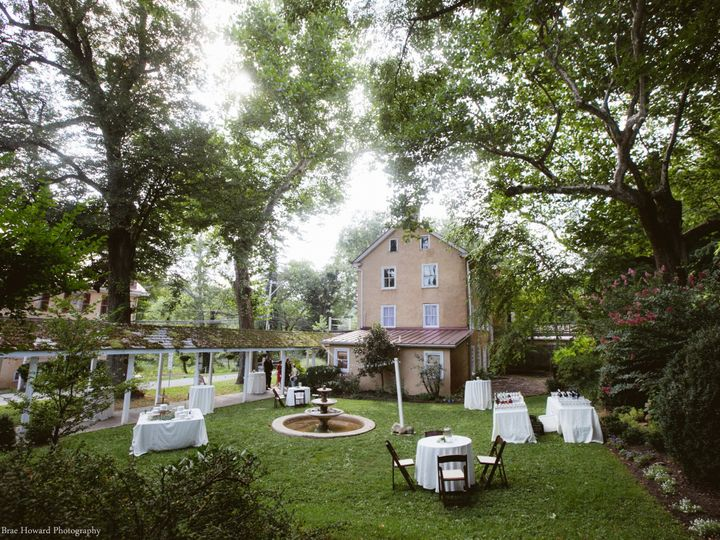 Tmx 1385572965944 Courtyard Cocktail Hour Ful Chester Springs, PA wedding venue
