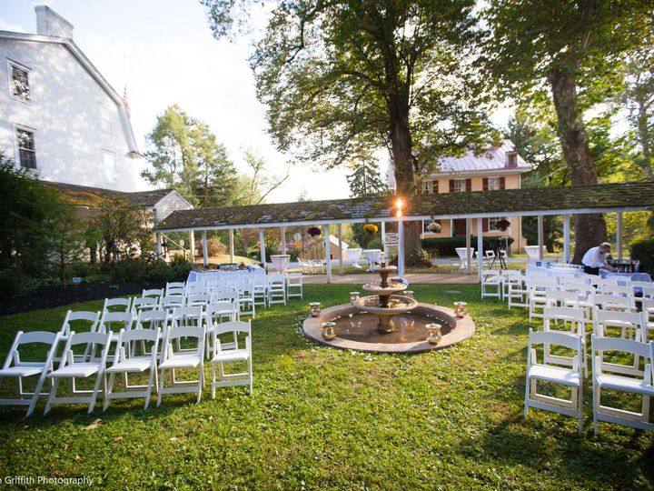 Tmx 1386960442263 Courtyard Facing Marks With Ligh Chester Springs, PA wedding venue