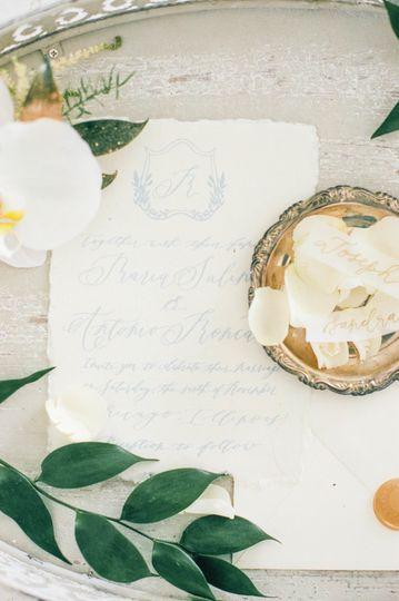 Invitation suite-Rebeca Lynn Calligraphy