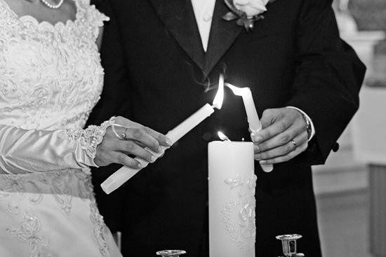 Unity Candle Polish Wedding