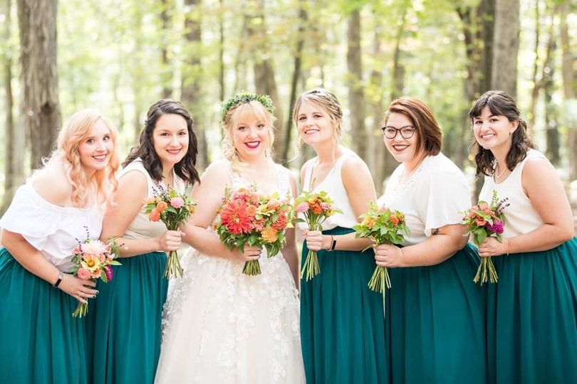 Bridal party | Jessica Fike Photography