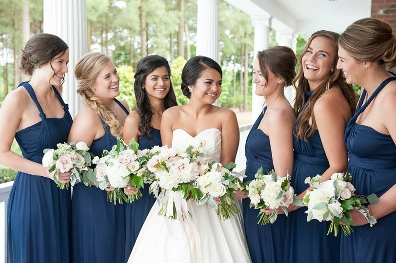 Angie's bridal party