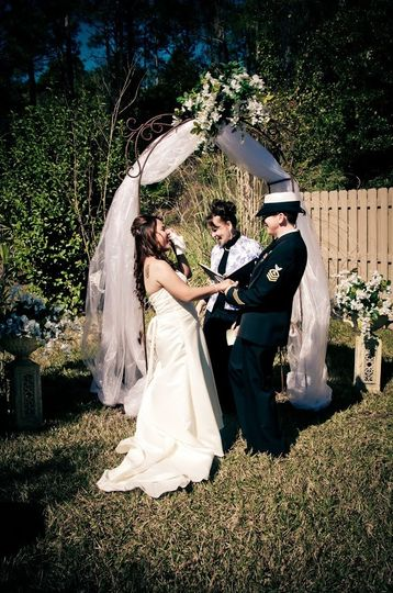Would you like your Ceremony in Rev. Deborah's Wedding Garden?  Take advantage of the gorgeous...