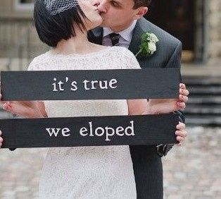 Yes, Elope with us