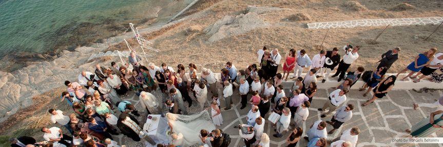 9 seaside greek orthodox ceremony on paros by mimmika