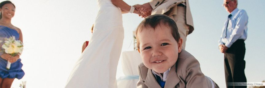 14 symbolic beach wedding in naxos by mimmika