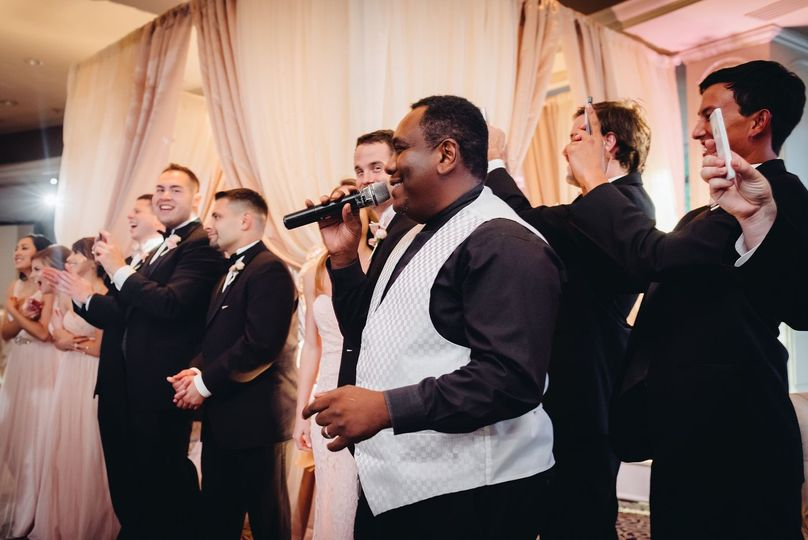 Tony singing the classic tunes: John Legend, Bruno Mars, Frank Sinatra, Louis Armstrong, Nat King...