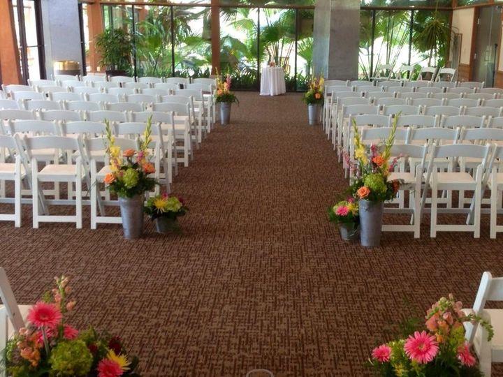 Tmx 1436464446352 Garden Room Wedding Ceremony Set Up Ames, Iowa wedding venue