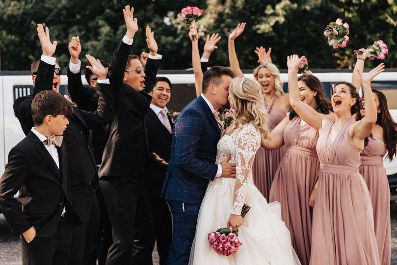 Cheers and a kiss - Christy Anna Photography