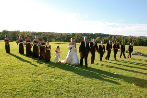 Bridal Party in State Park, David Negron Photography
