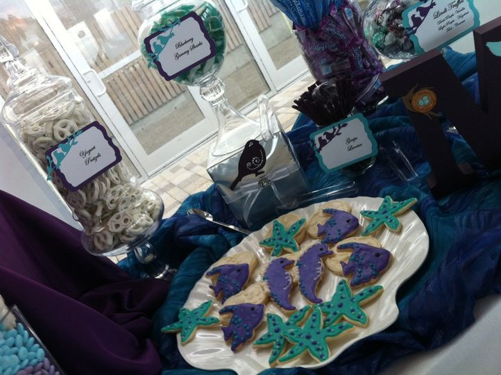 Sea theme cookies