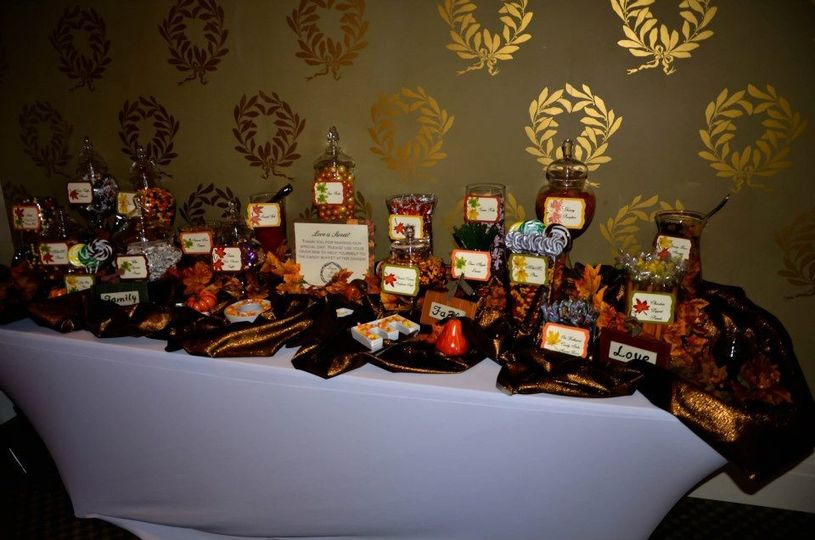 Halloween themed favors
