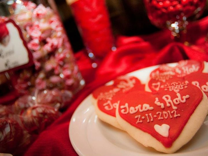 Tmx 1427569812306 Custom Cookies Red White Candy Buffet Tupper Manor Marco Island, FL wedding dj