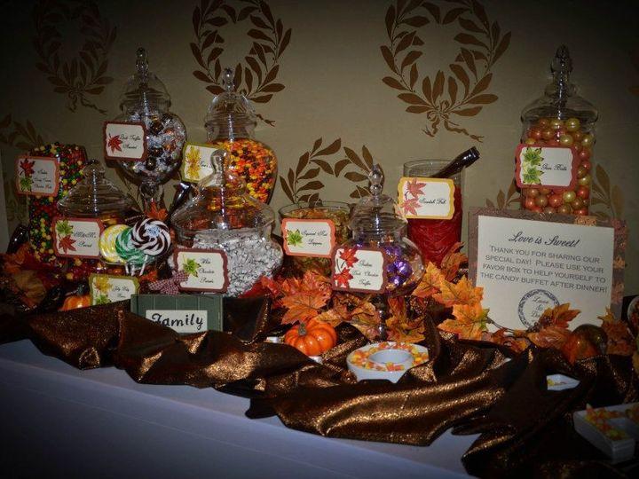 Tmx 1427569824447 Fall Themed Candy Buffet Mount Washington Hotel Br Marco Island, FL wedding dj