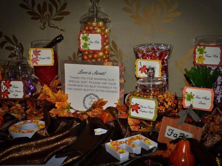 Tmx 1427569829154 Fall Themed Candy Buffet Mount Washington Hotel Br Marco Island, FL wedding dj
