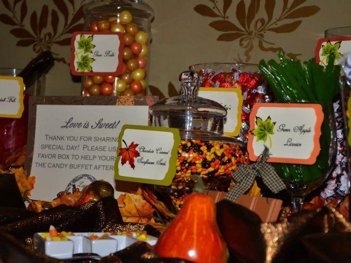 Tmx 1427569833464 Fall Themed Candy Buffet Mount Washington Hotel Br Marco Island, FL wedding dj