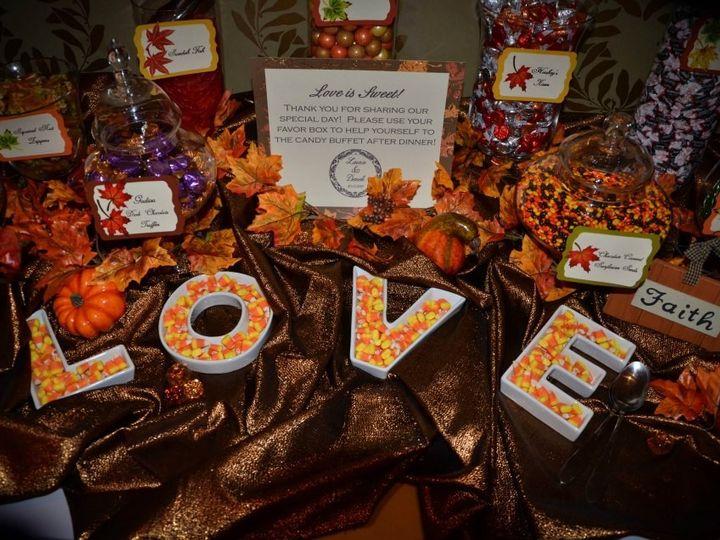 Tmx 1427569843750 Fall Themed Candy Buffet Mount Washington Hotel Br Marco Island, FL wedding dj