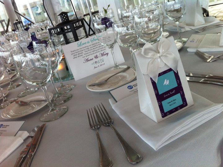 Tmx 1427569849343 Favor Box  Table Sign Sample Marco Island, FL wedding dj