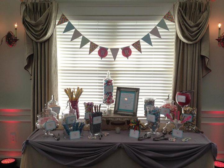 Tmx 1427569898341 Shabby Chic Silver Peach  Coral Blue Marco Island, FL wedding dj
