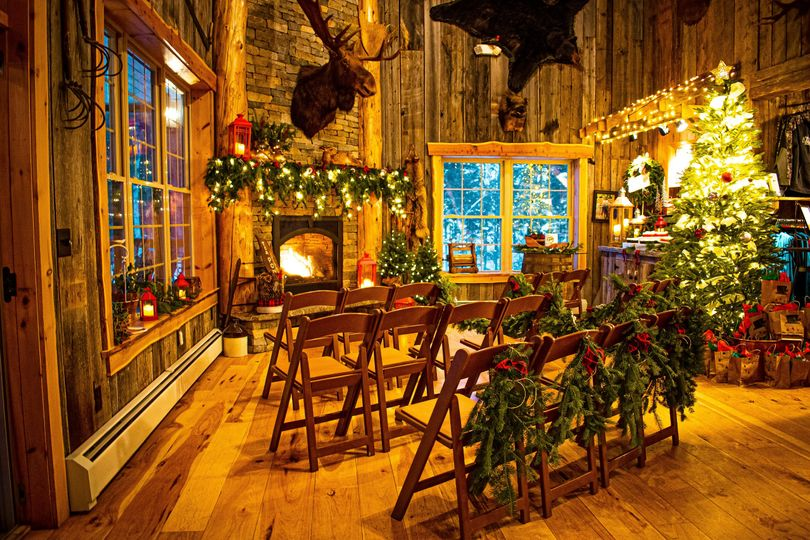 Winter Lodge Elopement