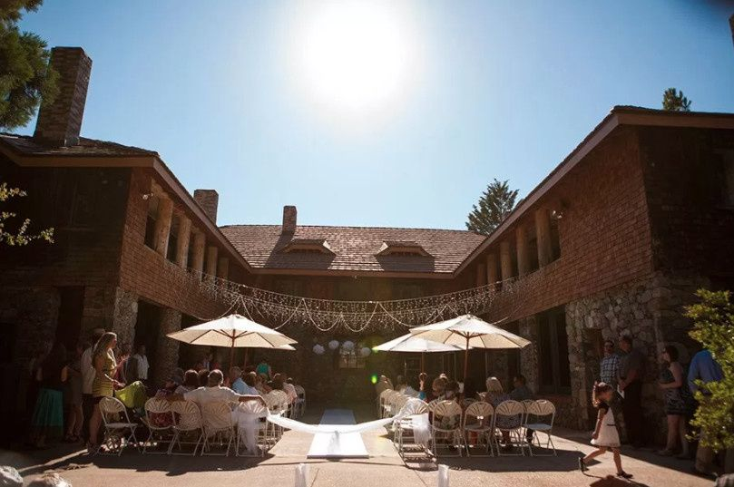 Courtyard Ceremony Seating