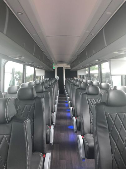 2019 56 passenger Coach