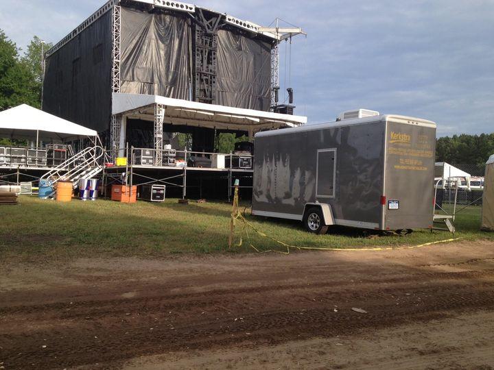 back stage concert set u