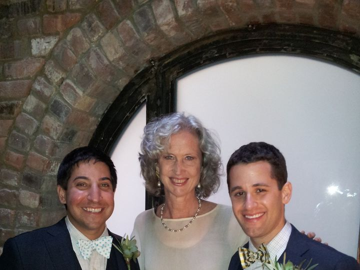 Tmx 1382397104506 Abe And Frank 5 4 13 2 New York wedding officiant