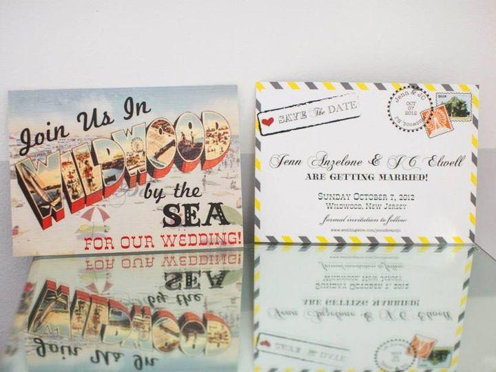 Tmx 1375743581131 941765654215571275218929177070n Egg Harbor Township, NJ wedding invitation