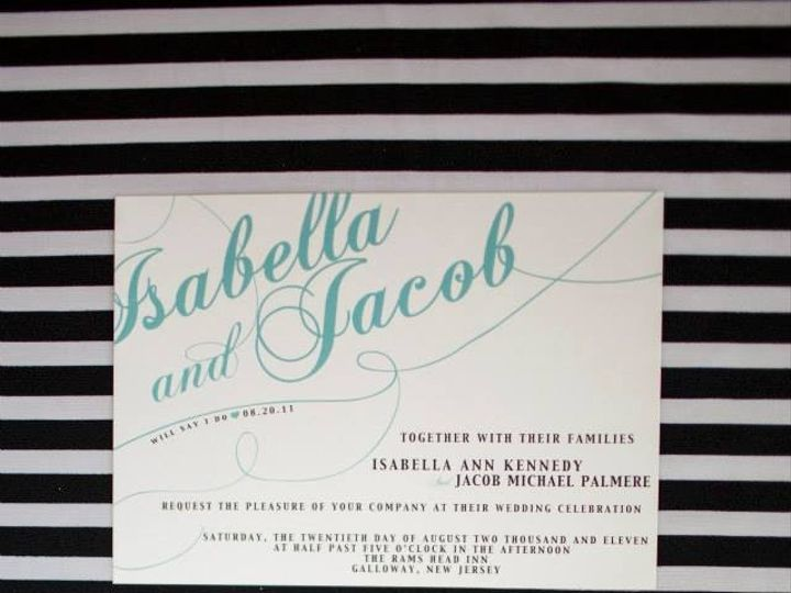 Tmx 1375743622259 10113206542216946079391049753001n Egg Harbor Township, NJ wedding invitation