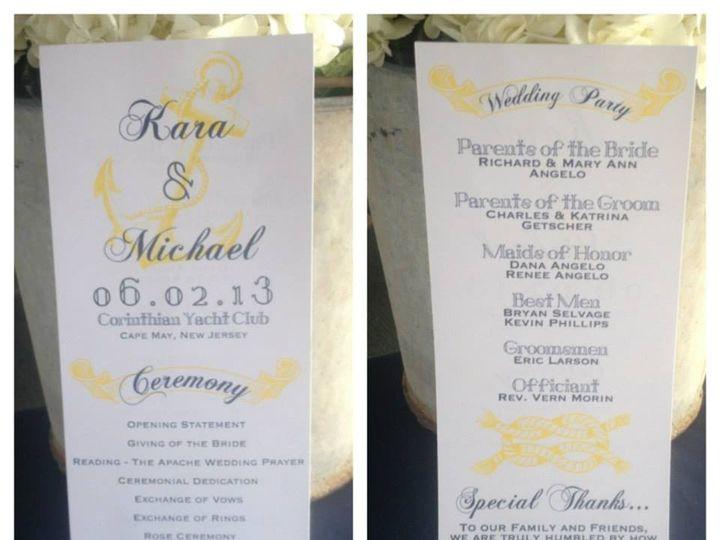 Tmx 1375743633354 1016645644304605599648420287834n Egg Harbor Township, NJ wedding invitation