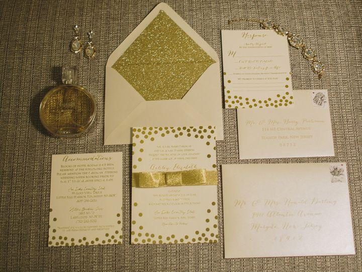 Tmx 1452098324283 K4a3135 Egg Harbor Township, NJ wedding invitation