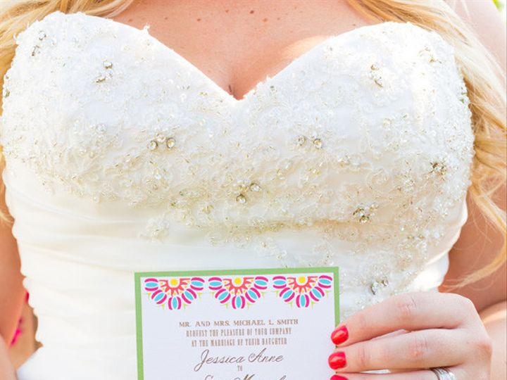 Tmx 1452098387393 Justbefiesta021 Egg Harbor Township, NJ wedding invitation