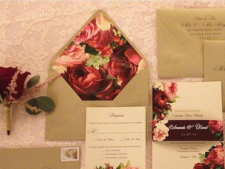 Tmx 1452098516465 Photo 3 Egg Harbor Township, NJ wedding invitation