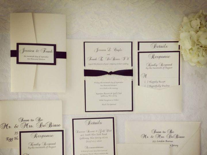 Tmx 1452098557953 109424939974004536233934443525493116335296n Egg Harbor Township, NJ wedding invitation