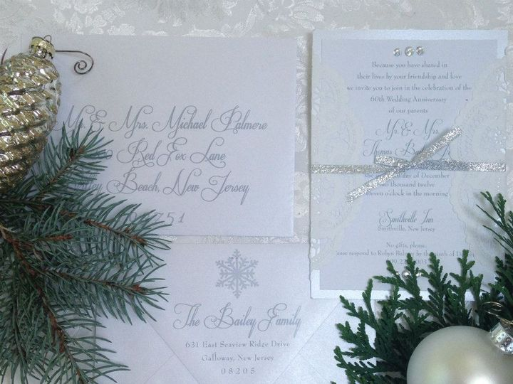 Tmx 1452098572123 104284379974118369555887396592458079704081n Egg Harbor Township, NJ wedding invitation