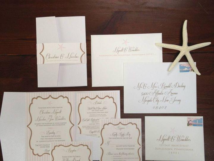 Tmx 1452098615113 109584369974119002889154897832664222030714n Egg Harbor Township, NJ wedding invitation