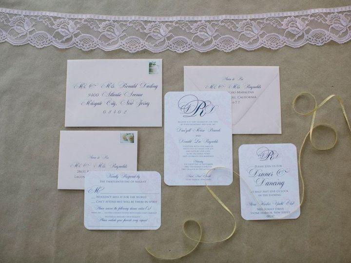 Tmx 1452098669098 1111249710384484195185961097807433415423802n Egg Harbor Township, NJ wedding invitation